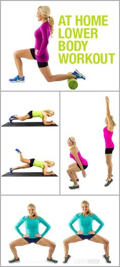 Here are the best lower body exercises that will have you toned for summer! #workout