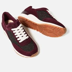 Image 1 of CONTRAST SNEAKERS from Zara