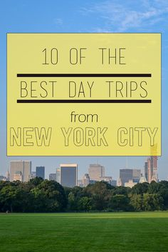 Escape the city! 10 of the best day trips from New York.. Read more at http://www.thewholeworldisaplayground.com/best-day-weekend-trips-from-new-york-city/