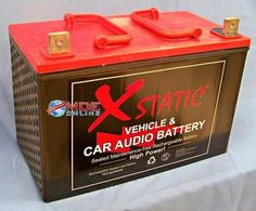 Xstatic BatCap Model X4000 / Improved Performance / 4000 Amp Battery Made in USA #Xstatic