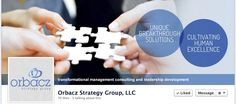Orbacz Strategy Group Custom Design #SocialGraphics by #SageIsland