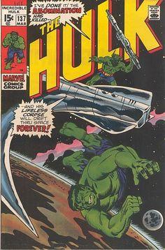 Incredible Hulk # 137 by Herb Trimpe