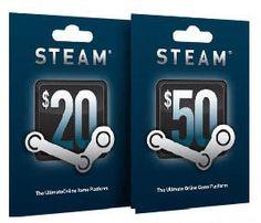 Free Steam Wallet Gift Codes