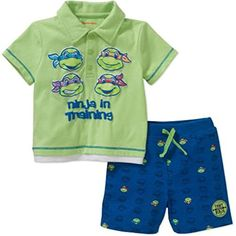 MY MARINE DAD IS A HERO GREEN KHAKI CAMO BOYS OUTFIT PANTS SET  6-9 MONTHS L