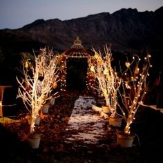 Love this autumn wonderland-themed real wedding, with lots of pretty and original decor ideas! By Jules Morgan.