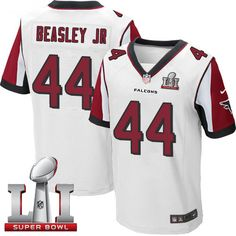 469d862972c2 Nike Falcons Vic Beasley Jr White Super Bowl LI 51 Men s Stitched NFL Elite  Jersey And nfl jersey online shop legit
