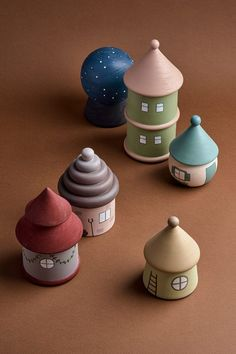 Wooden houses by HappyTreeStore. Imaginative play Woodland nursery decor. Montessori toys Woodland nursery decor Educational Eco-friendly Toys for baby. Montessori wooden toys. Wood toys for kids activity. These wooden houses will make your everyday play with kids a little more magical. Your little ones will go with these toys to the world of their imagination. #babygift #education