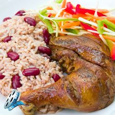 Carribean Jerk Chicken with Habanero Marinade, recipe video.  This recipe takes only 15 minutes on the grill, and the mango offsets the heat of the habanero marinade.