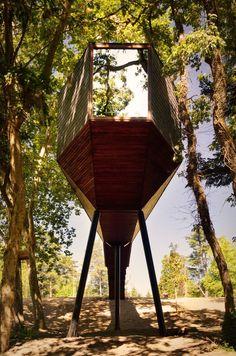 Tree Snake Houses At The Pedras Salgadas Eco Resort