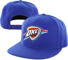 Oklahoma City Thunder '47 Brand Blue Primary Logo Snapback Hat by '47 Brand. $27.99. Quality team logo and colors. Officially licensed. Adjustable back. Six panel construction with eyelets. Hey fans--if you are looking for a simple yet timeless way to display your Oklahoma City Thunder pride, then try this '47 Brand hat on for size. With an adjustable back, bold team colors and quality construction, this Oklahoma City Thunder '47 Brand Blue Primary Logo Snapback Hat...