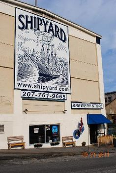 Shipyard - if you can't go to the brewery, just buy some and bring Maine to you.
