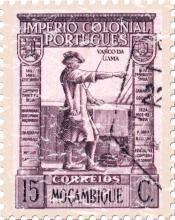 Mozambique 15c (portuguese colony)