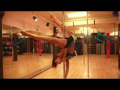FREE Online Pole Lesson: THE JANEIRO with Marion Crampe - YouTube