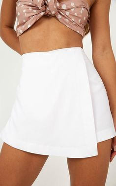 Women Skirt Summer Dresses First Communion Dress Beach Wedding Dresses Ball Gown Skirt Long Sleeve Gown Rush Outfits, Girly Outfits, Summer Outfits, Casual Outfits, Fashion Outfits, Summer Dresses, White Skirt Outfits, White Skort, Long Sleeve Gown