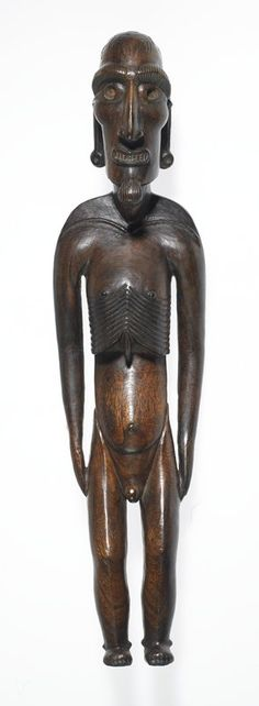 . Moai Kavakava Artist Unknown (Rapa Nui (Easter Island), Oceania), 18th century
