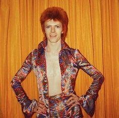 David Bowie Glam Rock era. #davidbowie #glamrock