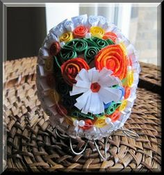 Craft Ideas for all: Paper Quilled Easter Egg