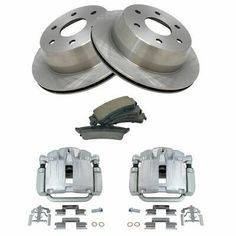 REAR Premium Ceramic Brake Pads Fits  07-12 Mini CooperW//Hardware Kit