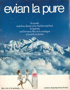 Evian. Paris Match n°1167 du 18 septembre 1971.