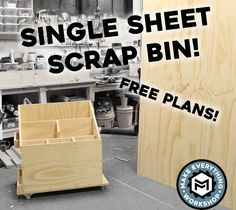 Picture of Scrap Cart  From a Single Plywood Sheet (w/ Plans!)