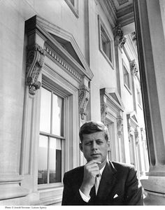 o hay it's just me, Senator John F. Kennedy at your service.