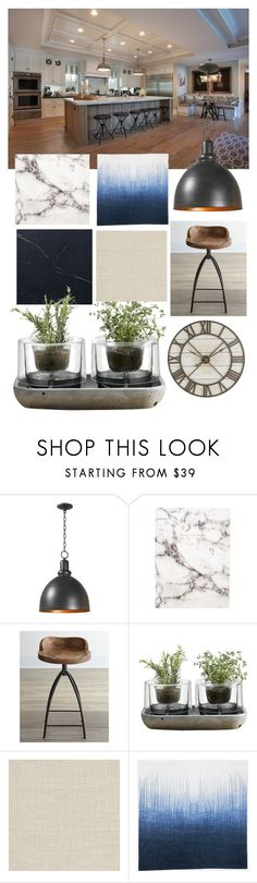 """""""Kitchen"""" by karen-keren ❤ liked on Polyvore featuring interior, interiors, interior design, home, home decor, interior decorating, Home Decorators Collection, Urban Outfitters, Arteriors and Nude"""