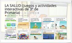 """""""10 juegos y actividades interactivas para el estudio de LA SALUD en 3º de Primaria"""" Science Area, Interactive Activities, Physical Activities, Dental Health"""