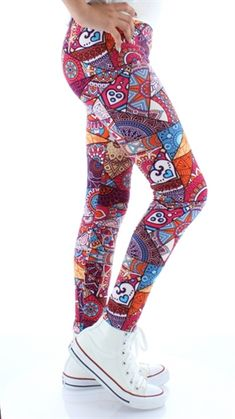 Girls Leggings  Buskins. KIDS Pieced Together