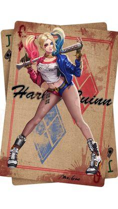 Harley Quinn, Bowen Gao on ArtStation at https://www.artstation.com/artwork/bVBxn