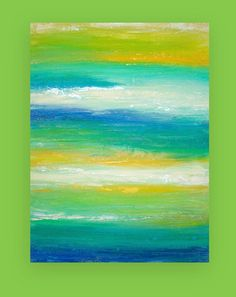 Abstract Acrylic Art Original Painting Titled by OraBirenbaumArt, $365.00