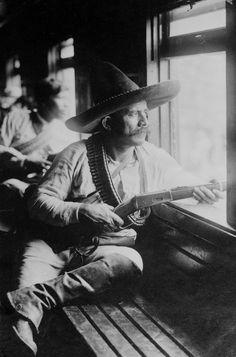 Revolucionario al mando de Venustiano Carranza Archivo fotográfico Casasola