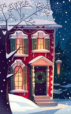 Christmas Cards by Diana Dementeva