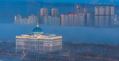 belt of the fog around the presidential residence - Acorda by Maxim Rozhin on 500px