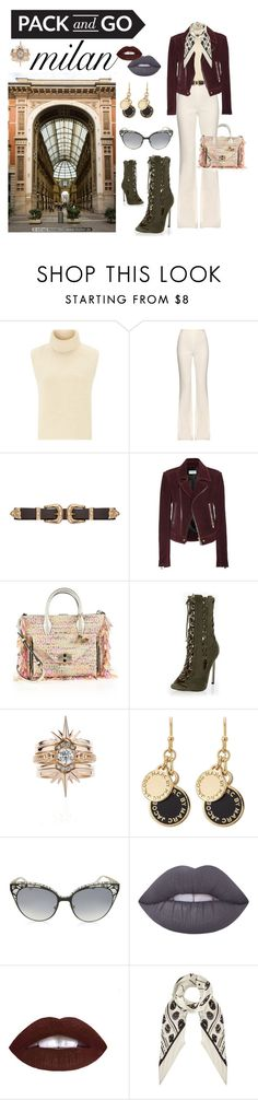 """""""Blonde salad inspired"""" by anifa1303 ❤ liked on Polyvore featuring Étoile Isabel Marant, Giambattista Valli, B-Low the Belt, Balenciaga, Diane Von Furstenberg, River Island, Marc by Marc Jacobs, Jimmy Choo, Lime Crime and Rockins"""