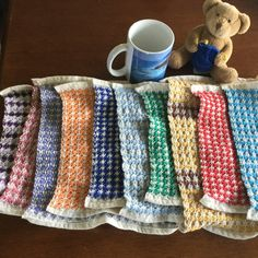 Little ones dishcloth by RNRWovenTreasures on Etsy