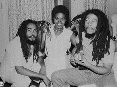 Jacob Miller, Jacira, Bob Marley, Inna Copacabana Brazil 1980.