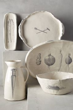 Field Harvest Serveware - anthropologie.com