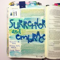 Advent Bible journaling, Romans 9:21 — Arden Ratcliff-Mann #illustratedfaith