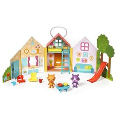 Sago Mini- Portable Playset Jinja House in Neon for toddlers at Sweet Threads Puzzles For Kids, Games For Kids, Toddler Apps, Kids Learning Apps, Portable House, Business For Kids, In Kindergarten, Play Houses, Cool Toys