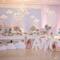 63 Ideas Baby Shower Temas Nubes 63 Ideas Baby S