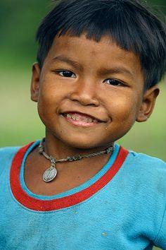 Sonrisa. Risa. Angkor. Camboya.