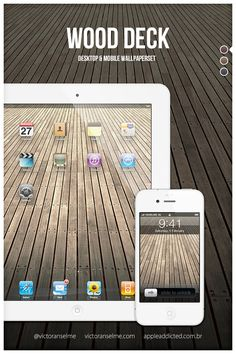 Wood Deck by victoranselme.deviantart.com on @deviantART