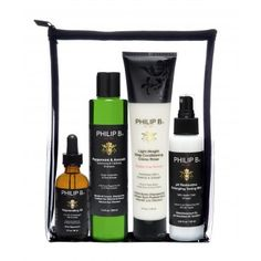 Four Step Hair & Scalp Facial Treatment Kit PHILIP B.