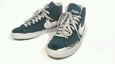 Nike blazer high jackie robinsin pack size 9 blue sneakers mens