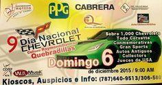 Día Nacional Chevrolet 2015 #sondeaquipr #dianacionalchevrolet #chevroletpr #coliseoraymonddalmau #quebradillas