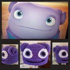 """Cute. Creative. Creations.: Crochet Home Boov inspired Character """"Oh"""""""
