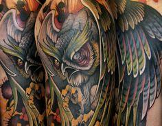 View 10 tattoos by Teresa Sharpe: http://illusion.scene360.com/art/70870/teresa-sharpe-tattoos/