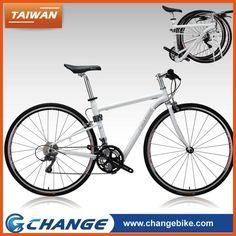 "CHANGE best foldable design 700C flat bar road bicycle 28"" folding bike"