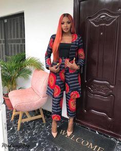 Beautiful and chic ankara kimono jackets styles for ladies, trendy ankara jackets for chics styles # African Print Fashion, African Fashion Dresses, Fashion Outfits, Womens Fashion, Ankara Fashion, Fashion Trends, African Outfits, Fashion Ideas, Kids Fashion