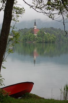 on of the best places i've been! :)  Bled, Slovenia